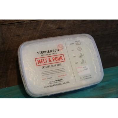 Base de savon melt & pour à l'aloès